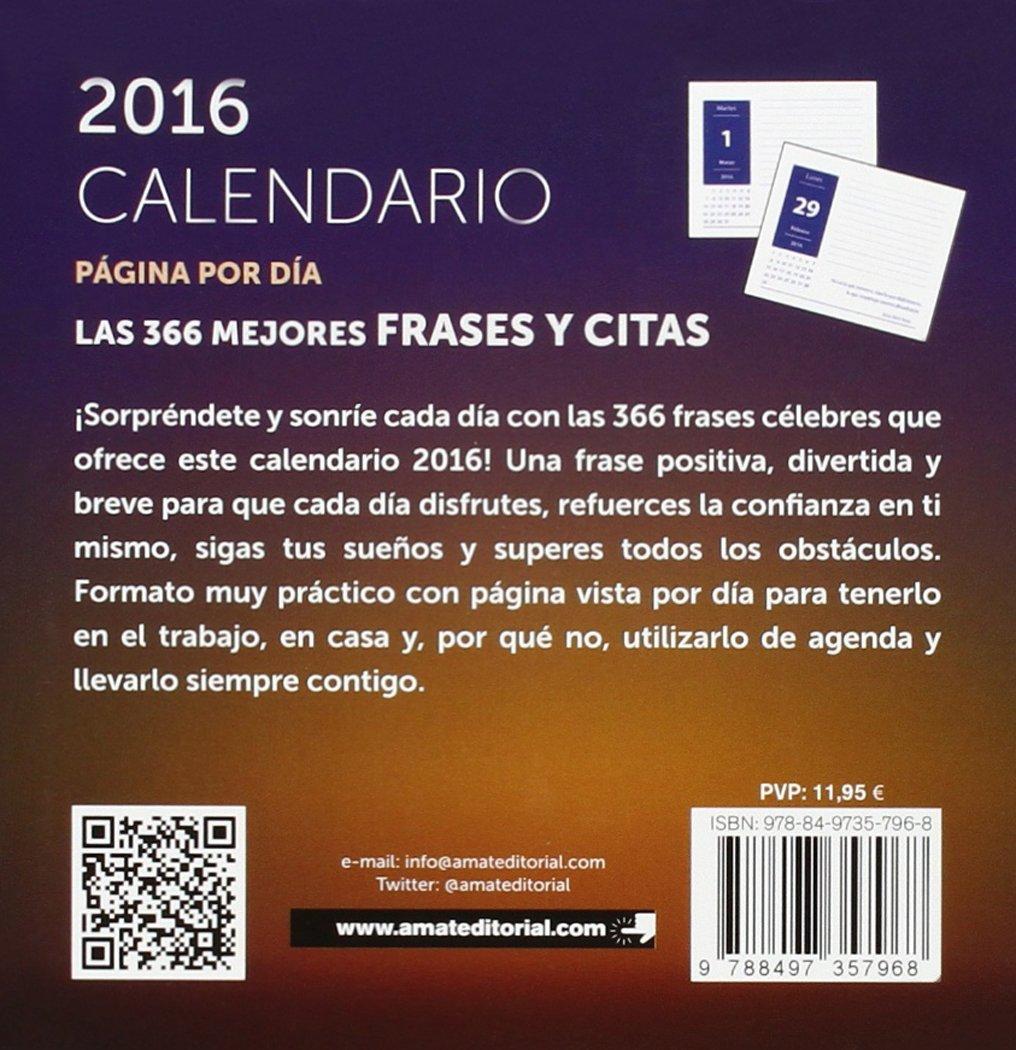 Calendario 2016 Faro Mejores Frases Y Citas Agendas Y