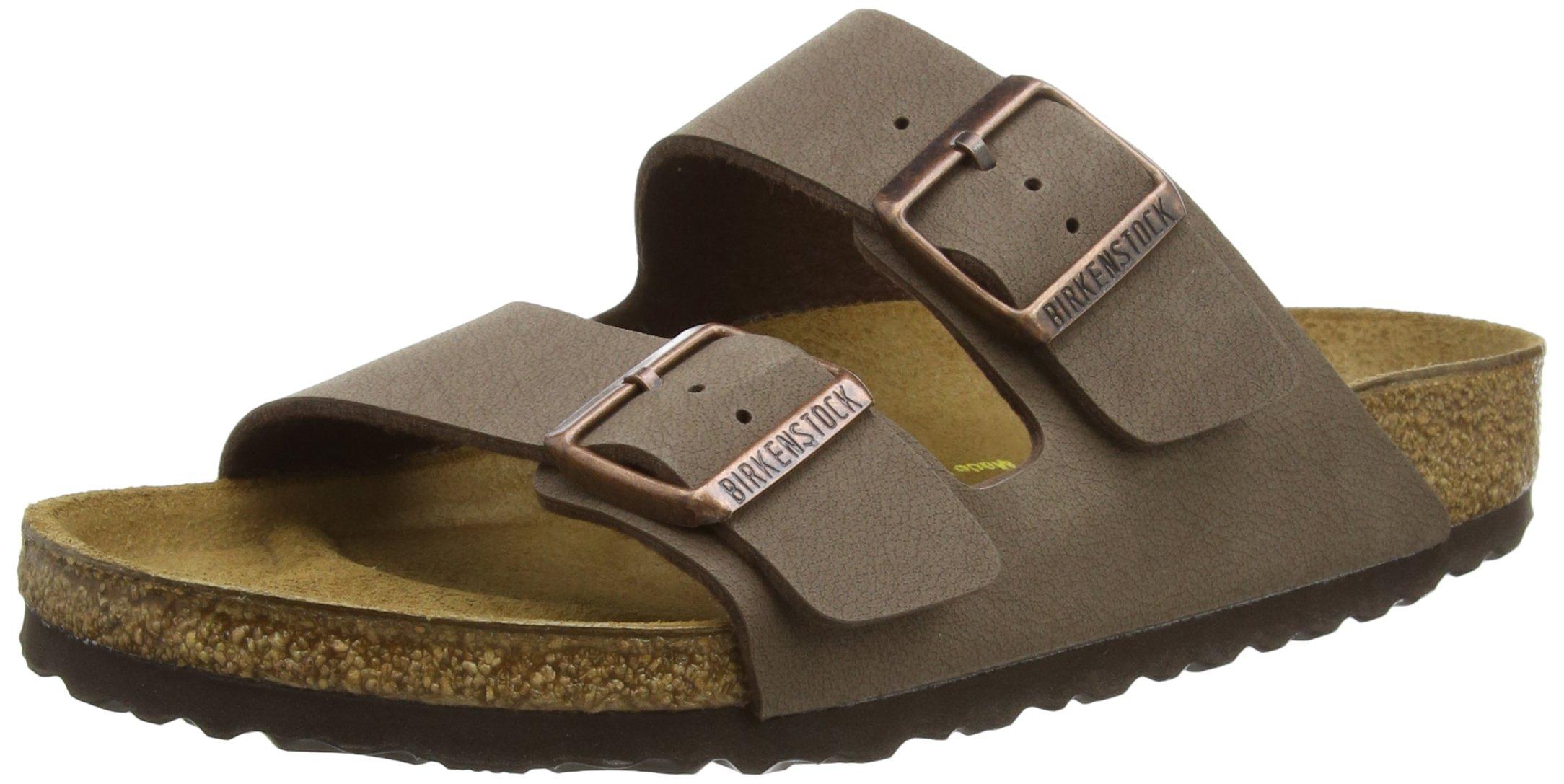 Birkenstock Women's Arizona  Birko-Flo Mocca Sandals - 42 M EU
