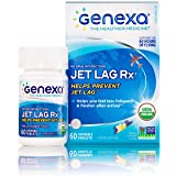Genexa Jet Lag Rx – 60 Tablets | Certified Organic & Non-GMO, Melatonin-Free, Physician Formulated, Homeopathic | Jet…