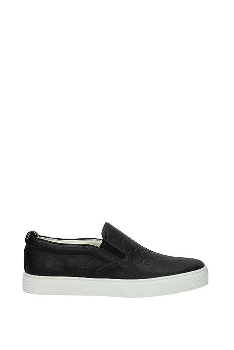 Zapatillas sin Cordones Gucci Hombre - Piel (407364CWCE0) EU: Amazon.es: Zapatos y complementos