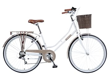 4fdb6cfff Image Unavailable. Image not available for. Colour  Viking Belgravia White  18 quot  Ladies  Heritage Bike