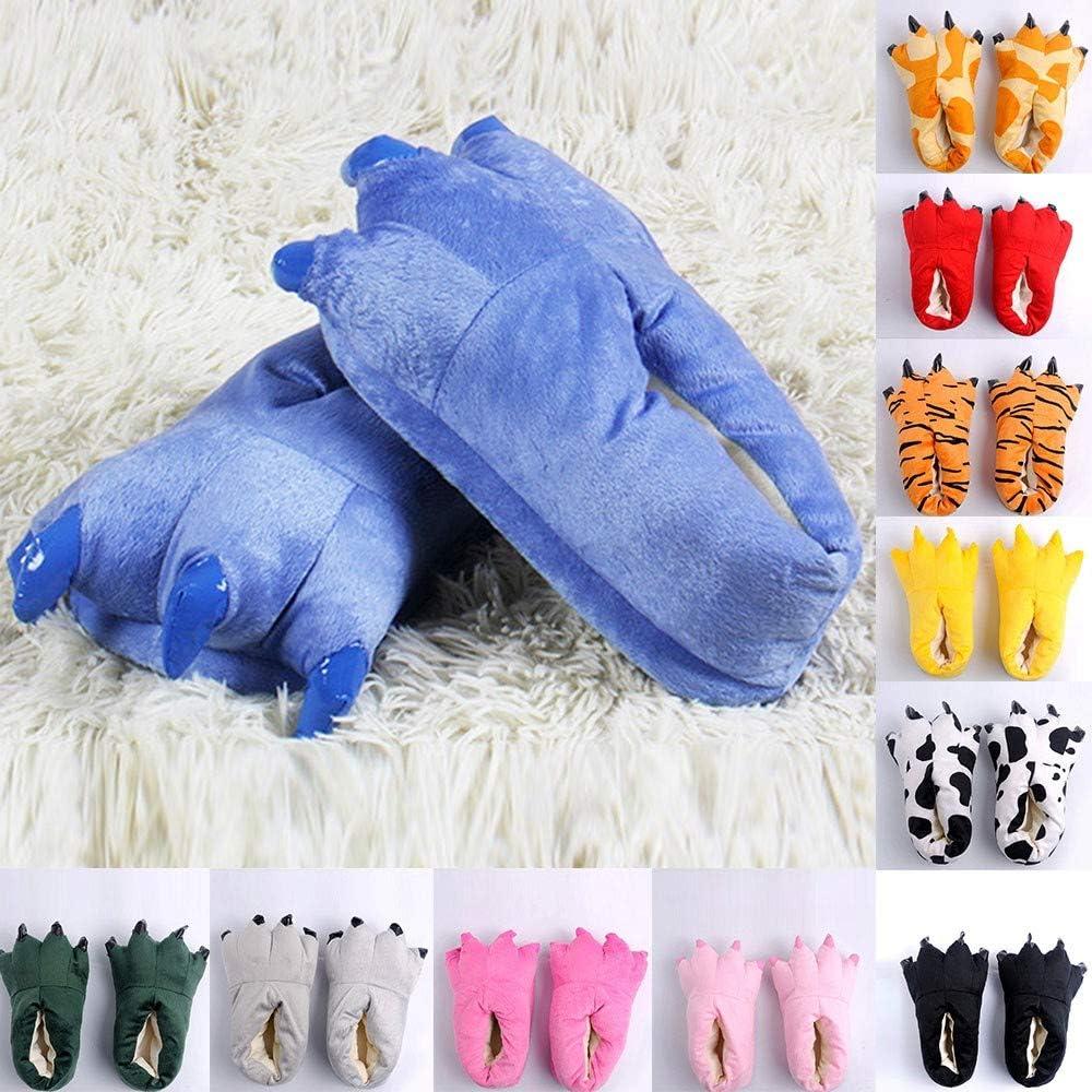 SANFASHION Mode Fashion Chaussures de Coton Portent des Chaussures Polyvalentes étudiants Chaussons de Chanbre Femmes - C Bu Homme