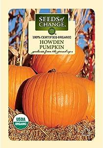 Seeds of Change Certified Organic Howden Pumpkin