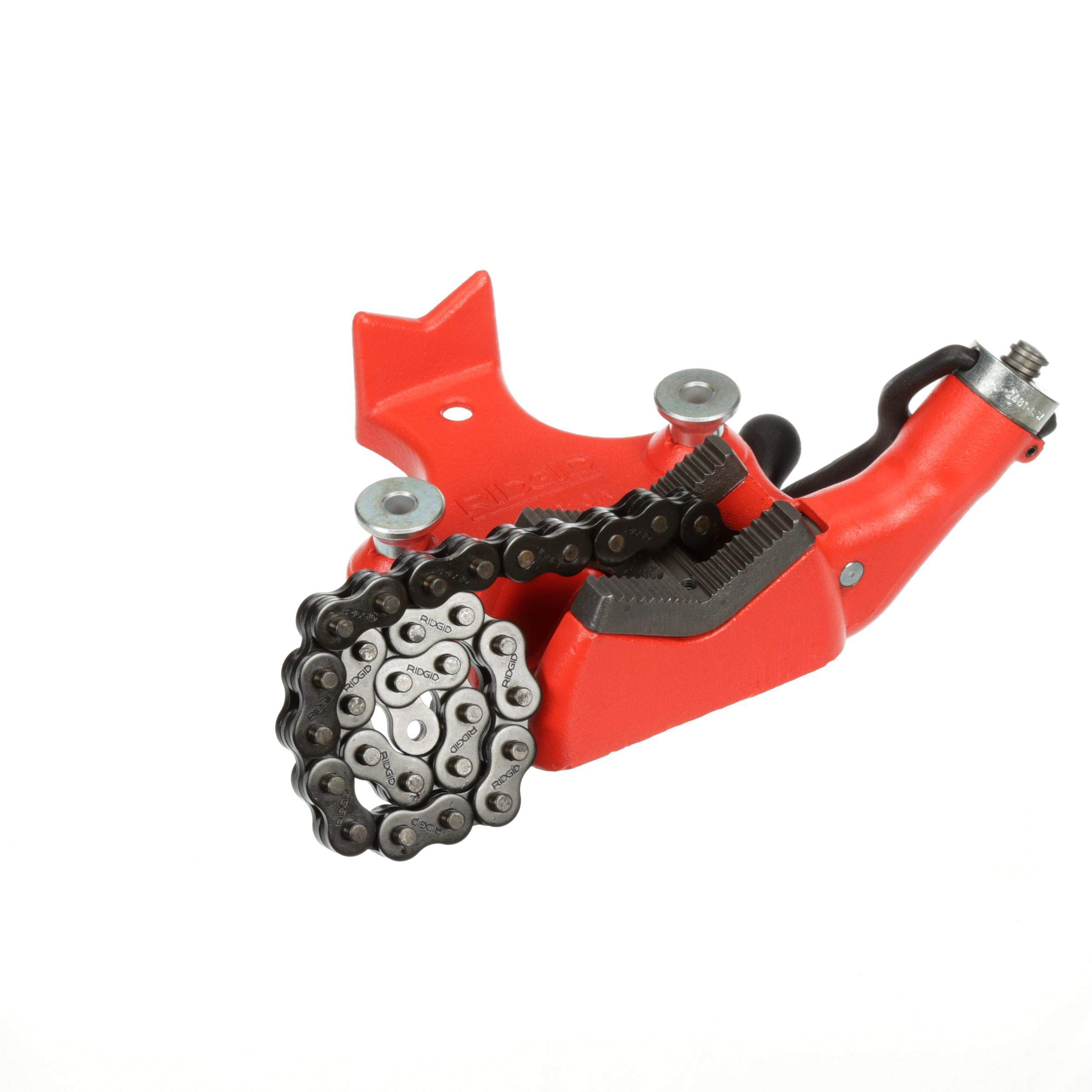 RIDGID 40210 Model BC610 Top Screw Bench Chain Vise, 1/4-inch to 6-inch Bench Vise
