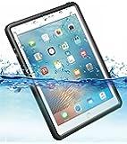 iPad pro 9.7インチ Air2 完全 防水ケース 耐震 防雪 防塵 耐衝撃 カバー 全面保護 IP68防水規格 アイパッドケース アイパッドカバー 防水カバー 耐衝撃カバー 薄型 iPadPro9.7 iPadAir2 アイパッド ストラップ付き お風呂 アウトドア A1566 / A1567 / A1673 / A1674 / A1675 (iPad Pro 9.7インチ/Air2用)