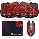 BlueFinger Gaming Keyboard and Mouse...