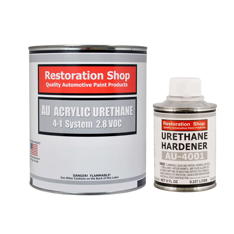 Restoration Shop - Complete Quart Kit - ELECTRIC BLUE METALLIC Acrylic Urethane Single Stage Car Auto Paint by Restoration Shop (Image #1)