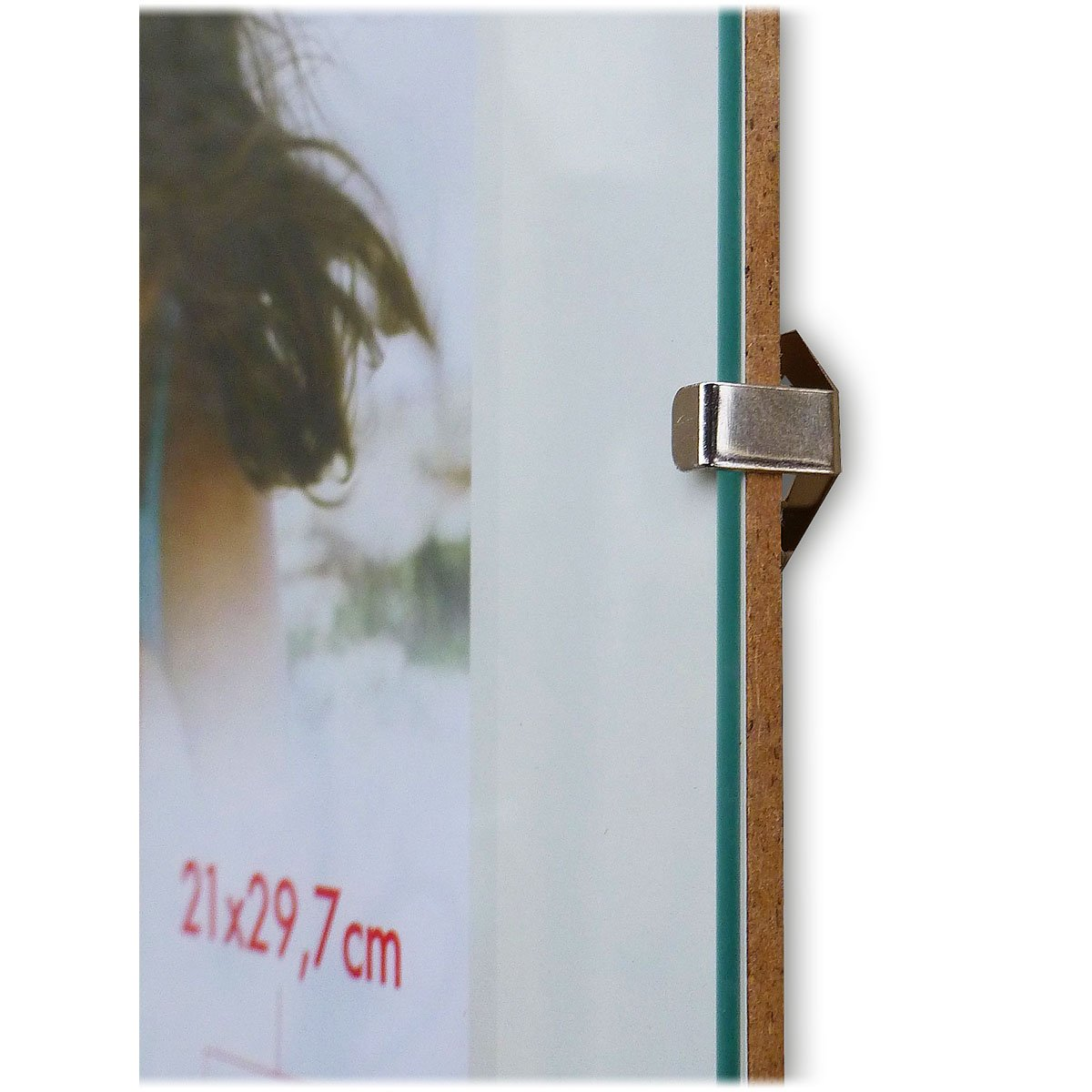 Amazon.de: Rahmenloser Bilderrahmen Bildhalter Cliprahmen 70x100cm ...