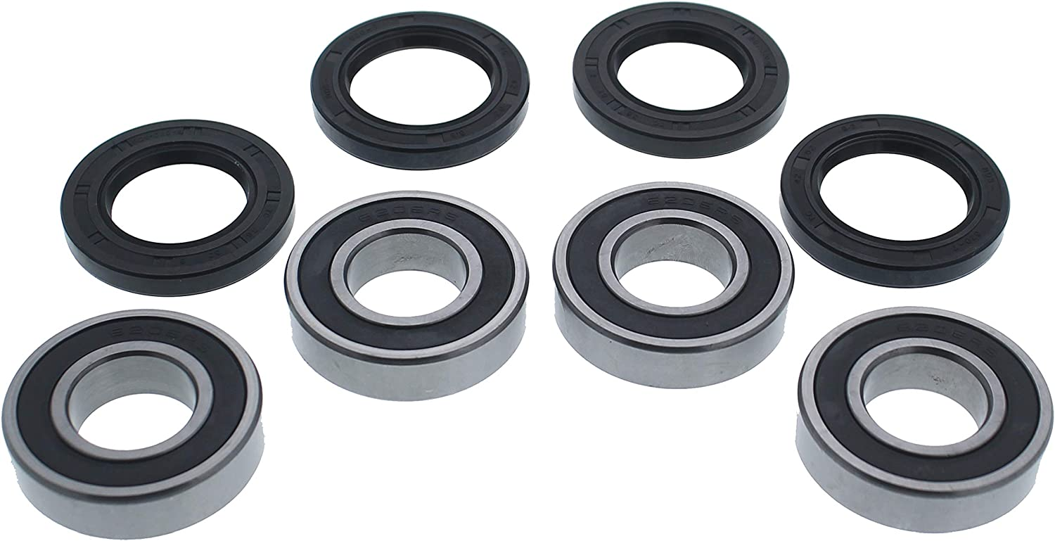 2008 2009 2010 2011 Yamaha 700 Rhino Front And Rear Wheel Bearings And Seals