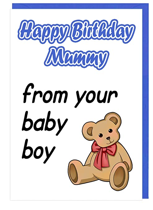 Tarjeta de felicitación de cumpleaños para Mummy - de tu ...