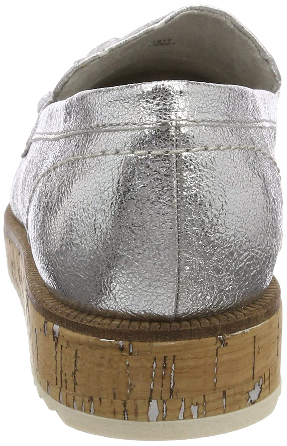 MARCO TOZZI Women's 24730 Loafers, Silver 941 5 UK: Amazon
