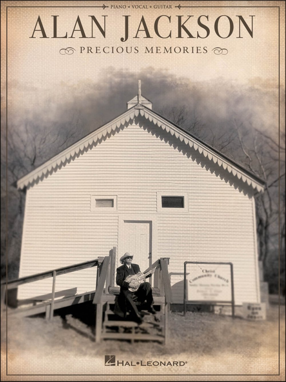 Amazon Hal Leonard Alan Jackson Precious Memories Arranged For
