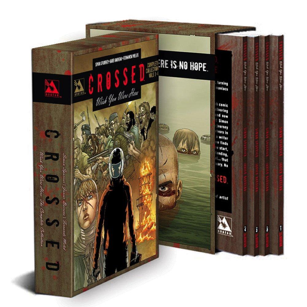 Crossed: Wish You Were Here Volumes 1-4 Slipcase Edition: Simon Spurrier,  Fernando Melek, Javier Barreno: 9781592912636: Amazon.com: Books