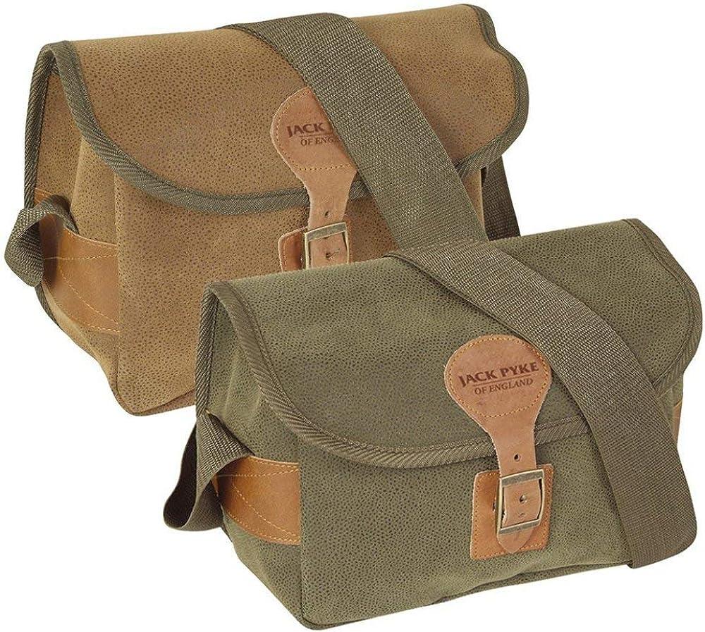 Jack Pyke Dog Bag Hunting Sack Shoulder Carry Pack Shooting Satchel Duotex Brown