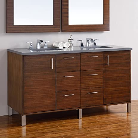 James Martin Metropolitan 60 In. Double Bathroom Vanity