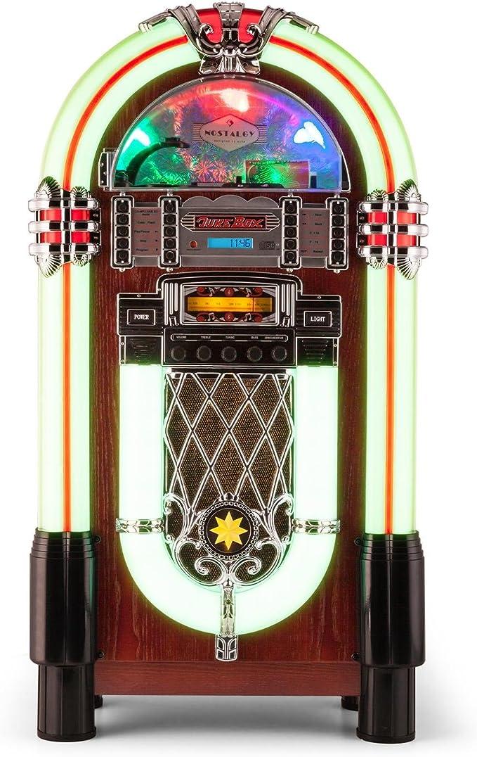 AUNA Graceland XXL Jukebox Vintage - Bluetooth , Reproductor