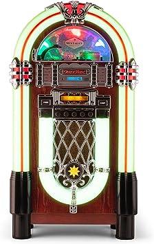AUNA Graceland XXL Jukebox Vintage: Amazon.es: Electrónica