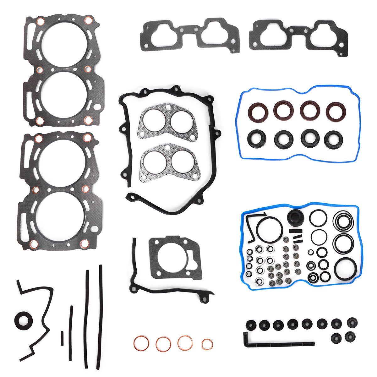 Head Gasket Set, YITAMOTOR Gasket Kit Compatible for 1999-2005 Subaru 2.5L, Replace HS26170PT1