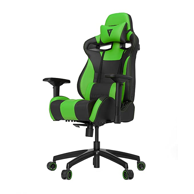 2 opinioni per Vertagear S-Line 4000 Gaming Chair, Black/Green, Medium