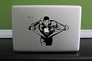 Superman Macbook Decal Sticker Skin Laptop 6.6