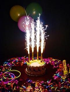 Birthday Wedding Bottle Cake Party Candles Smokeless 1 Pack 4 Pcs