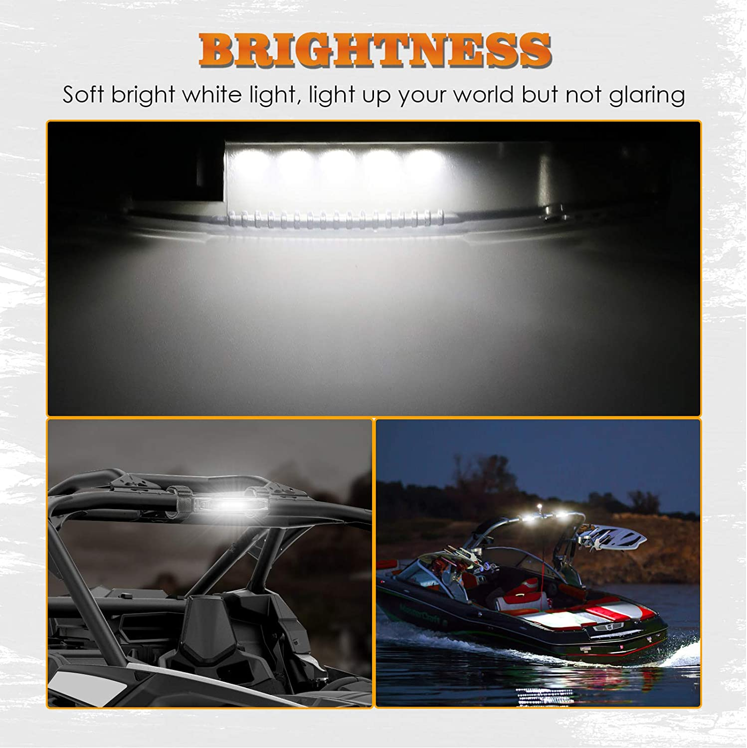 Larson Electronics 1017OJI2AZM 2011 Freightliner Columbia Mid-Roof-Lh Side Roof Mount Spotlight 100W Halogen -Chrome 6 Inch Driver Side with Install Kit
