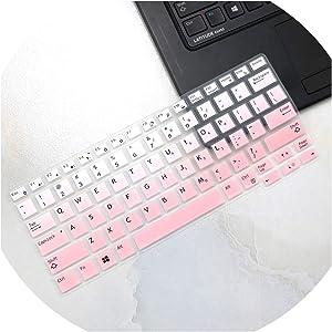 Compatible for Dell Latitude E7250 E5250 E7270 E5270 E7389 E5270 12.5 Latitude 7290 7280 7380 7390 E7370 13.3 Laptop Keyboard Cover Skin,fadepink