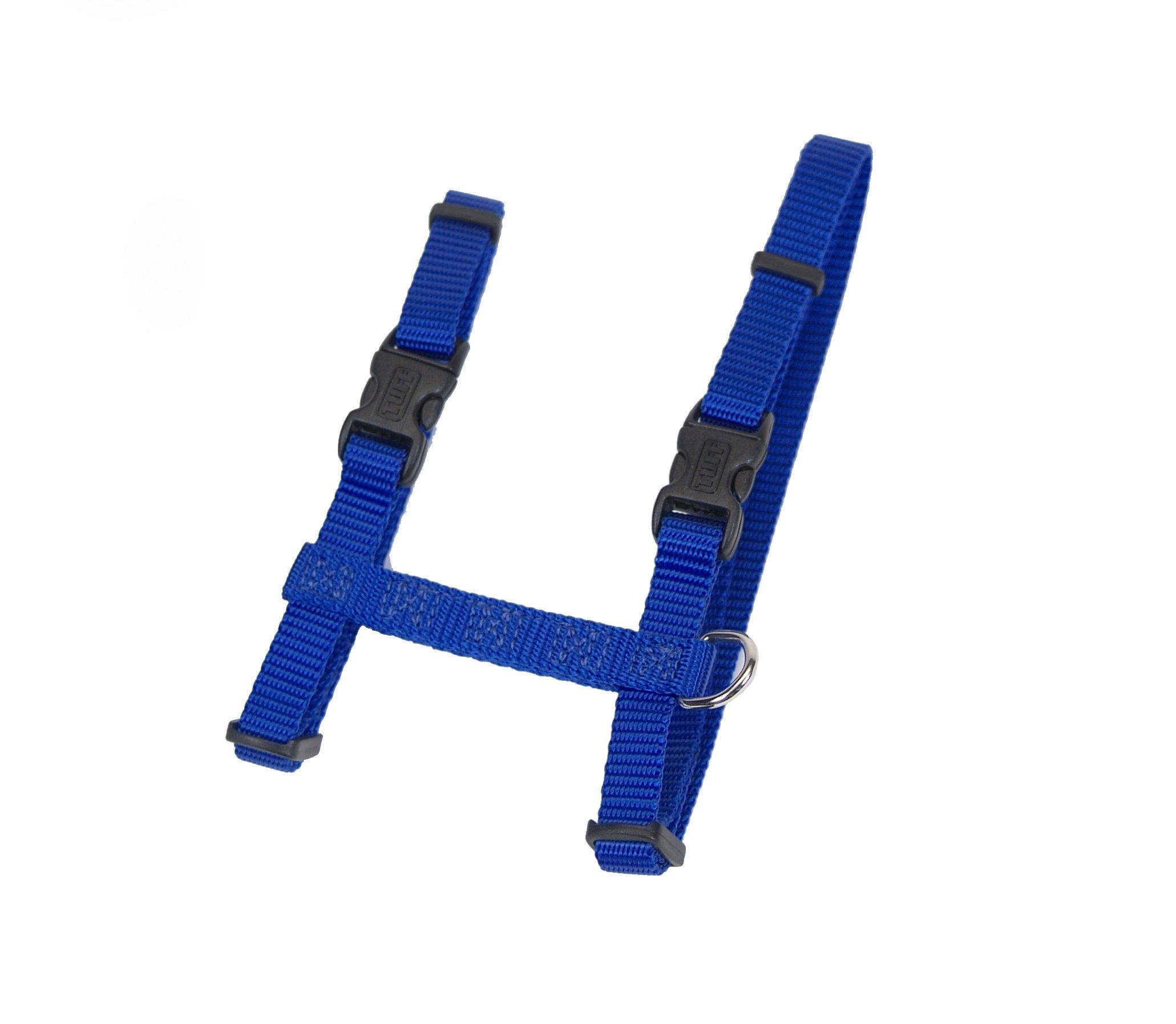 Adjustable Figure H Cat Harness Blue