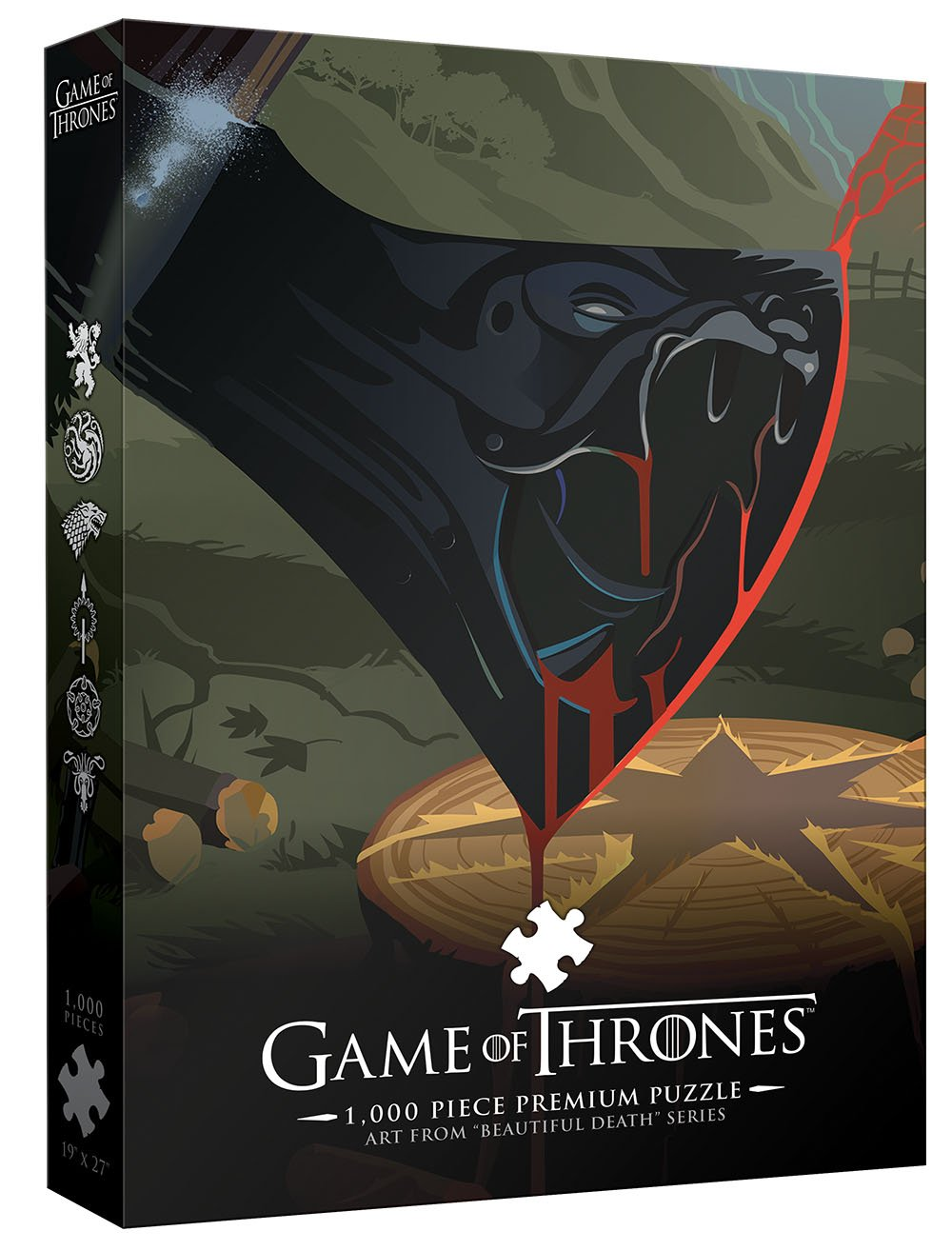 USAopoly Game Thrones Jigsaw Puzzle (1000 Piece)