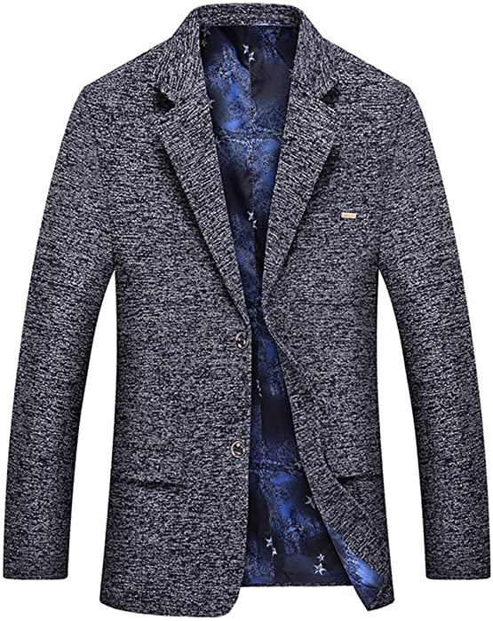 b991a5978a667e ... ジャケット ビジネス カジュアル 春秋. FOMANSH テーラードジャケット メンズ ブレザー スーツ ジャケット 大きいサイズ M-3XL  2つボタン ジャケット