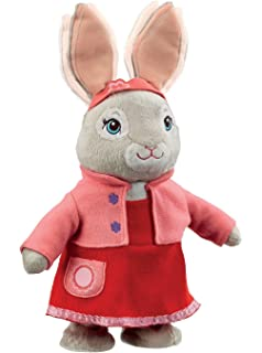 Beatrix Potter Kids Talking And Hopping 40Cm Lily Bobtail Plush Toy