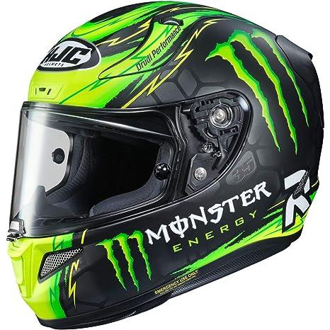 Amazon.com: HJC RPHA 11 Cal Crutchlow casco de motocicleta ...