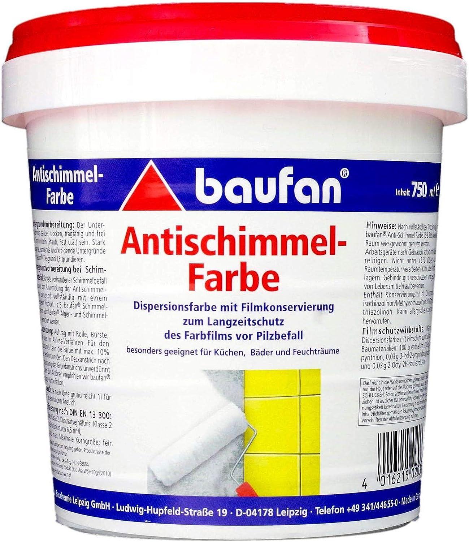 Baufan Antischimmelfarbe Anti-Schimmelfarbe 19ml