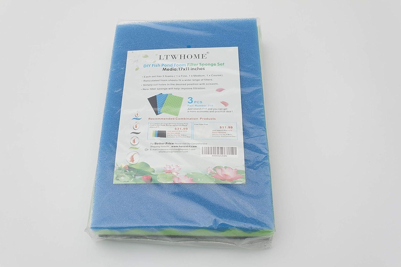 Genérico - Esponja de filtrado, estera de filtrado, Juego de filtro 43CM x 28.5CM: Amazon.es: Hogar