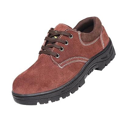 Homyl Unisexe Chaussures De Sécurité Bottes de Travail Chaussures Industrielles et Construction