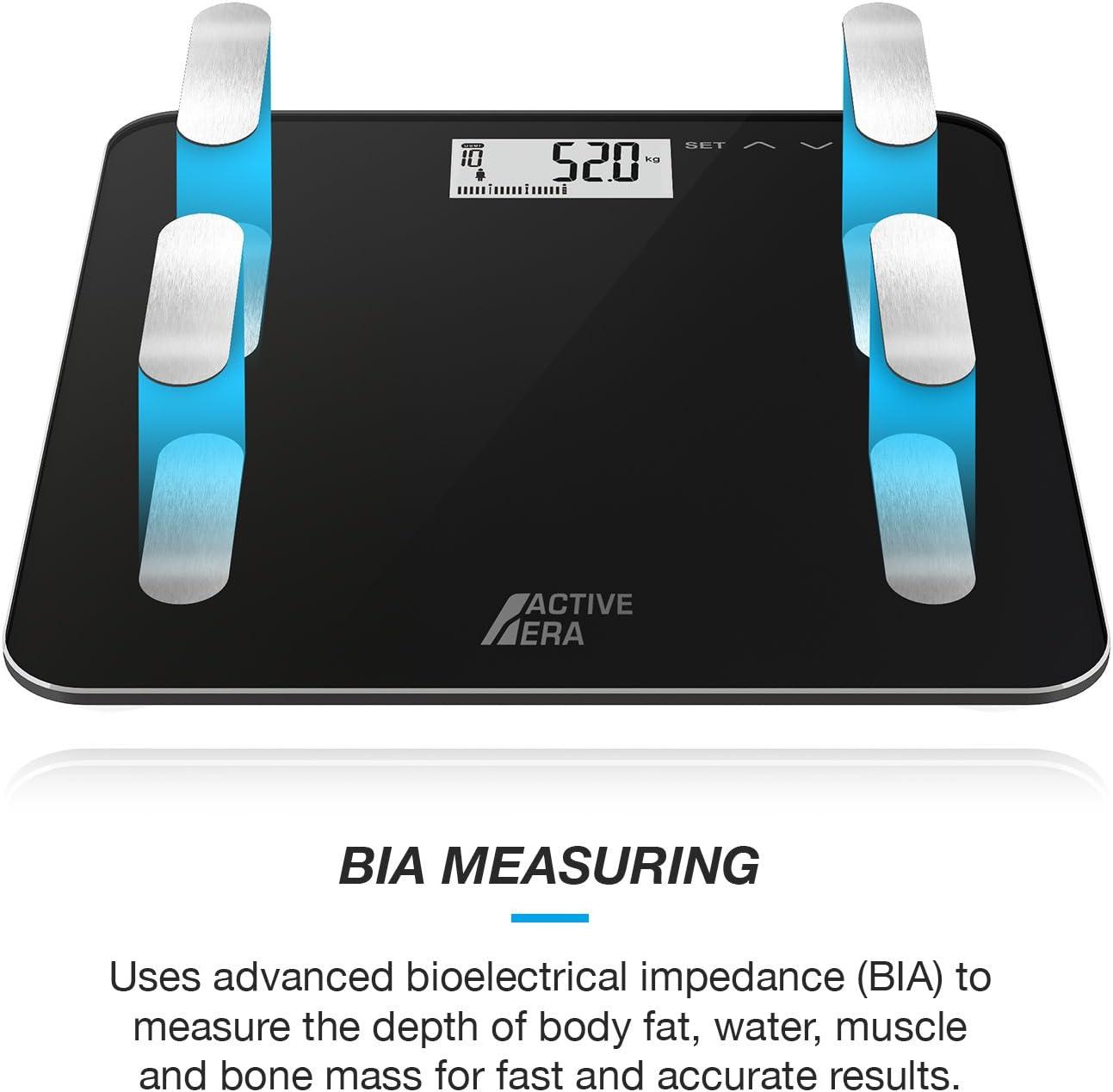 Active Era Bilancia Diagnostica Pesapersone Digitale e Tecnologia Step On e BIA