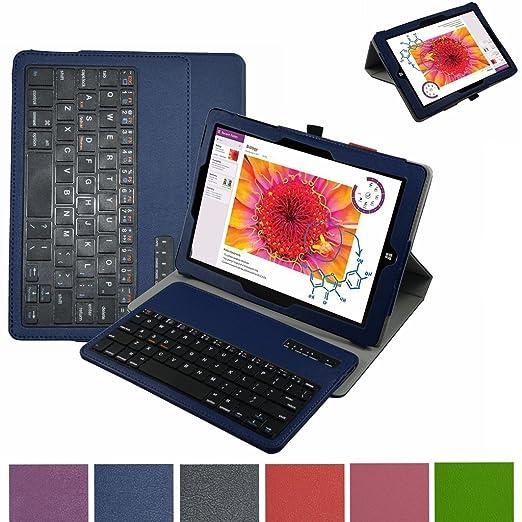 5 opinioni per Microsoft Surface 3 Bluetooth Tastiera Custodia,Mama Mouth Staccabile Bluetooth