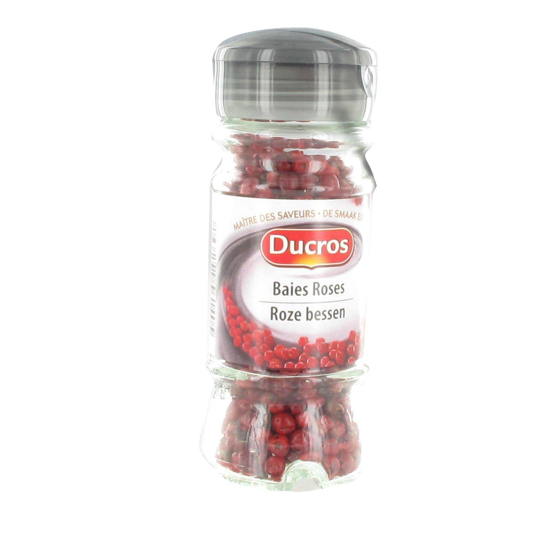 Ducros Pink Pepper 7.7 oz Ducros Pink Peppercorns 220 grams Foodservice Restaurants