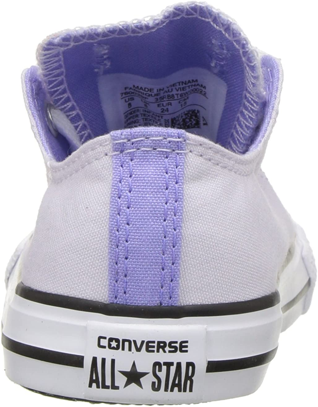 Converse Girls' Double Tongue Palm Trees