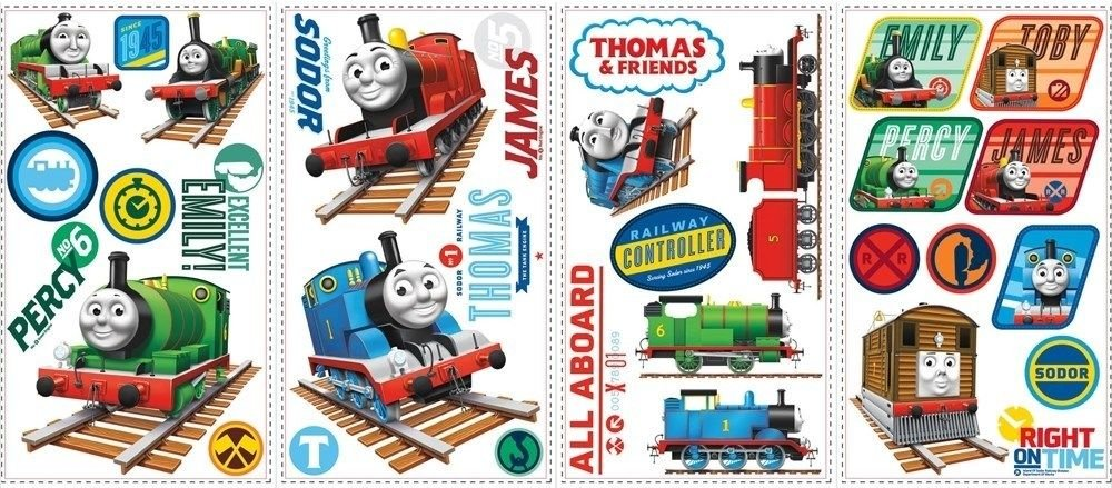Amazon Com 33 New Thomas The Train Wall Decals Tank Engine Stickers