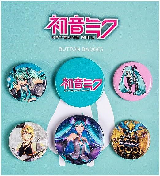 GB Eye LTD, Hatsune Miku, Mix, Pack de Chapas: Amazon.es: Hogar