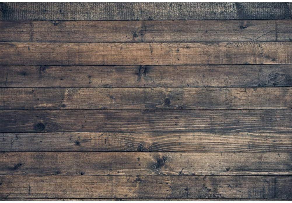 WxL Insun Vintage Wooden Plank Photo Backdrop Floor Vinyl Photography Background Non Reflective for Party Photobooth Video Shotting 10x10ft