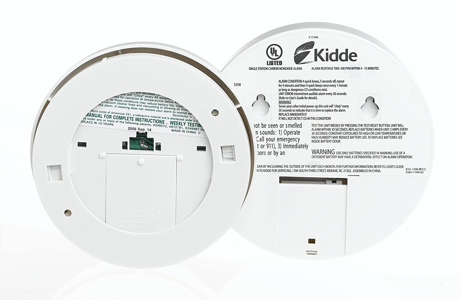 kidde carbon monoxide kn cob b and smoke alarm 0916 value pack rh amazon com BRK Electronics Smoke Alarm Manual Smoke Alarm Firex 1020 Manual