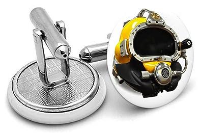 Buceadores Gemelos ~ Divers Regalos ~ hecho a mano Gemelos ...