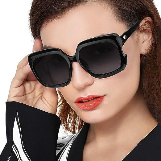 Women Retro Cat Eye Square Sunglasses Designer Big Frame Eyeglass Shades New
