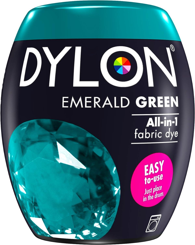 Dylon Máquina Dye Pod 350 g, Verde Esmeralda