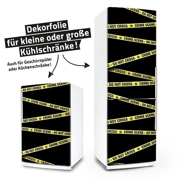 Kühlschrank- & Geschirrspüler-Folie --- Crime Scene --- Dekorfolie ...