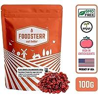 Foodsterr Ruby Dried Cranberries, 100g