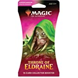 The Gathering Throne of Eldraine Collector Booster | 15 Card Booster Pack | Special Collector Cards