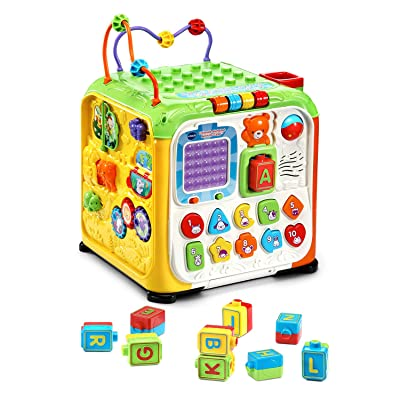 VTech Ultimate Alphabet Activity Cube, Green: Toys & Games